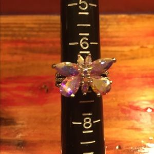 Jewelry - Aurora Borealis Mystic Butterfly Ring